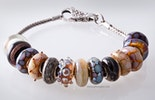 Glasperlen im Pandora- und Trollbead-Style