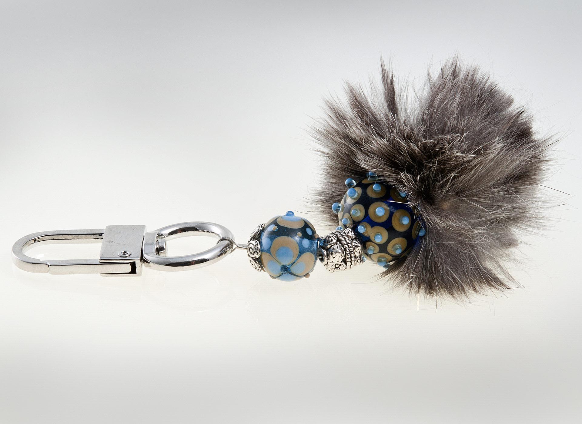 glitzerglas glasperlen taschenanh nger das besondere extra f r deine handtasche die. Black Bedroom Furniture Sets. Home Design Ideas