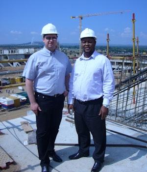 Baustelle Peter Mokaba Stadion SA
