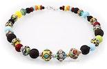 """""""Coloré""""Halskette mit bunten Glasperlen (Bild 1 von 3)"""
