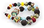 """""""Coloré""""Halskette mit bunten Glasperlen (Bild 3 von 3)"""
