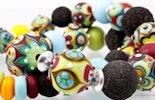 """""""Coloré""""Halskette mit bunten Glasperlen (Bild 2 von 3)"""