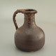 Jug by Freymond, 1960's H19cm D15.5cm note the glaze on the handle