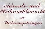 Glitzerglas Glasschmuck und Glasperlen am Advents- und Weihnachtsmarkt in Unterengstringen/ZH