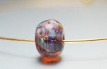 Götter-Glasperle mit Psyche-Glas, (verkauft/Rheinfelden)