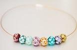 Halskette mit Glasperlen (schmücken jetzt Corinne/Frick)