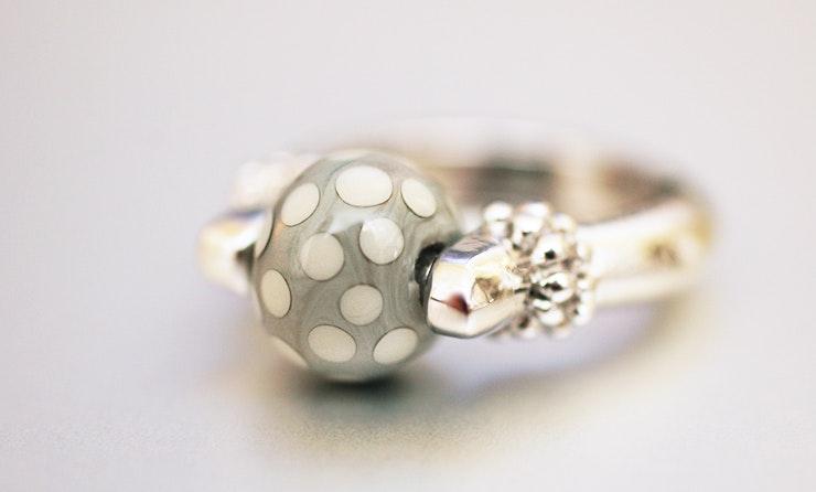 Fingerringe mit Muranoglas ist jetzt in Conny's Besitz :-) Sissach/Basel