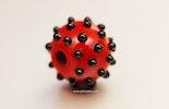rot/schwarze Perle