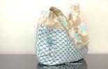 Taschenanhänger: das besondere Extra für Deine Handtasche ! Die Tasche ist von meiner Freundin Nicole (Stoffdesign Winterzwärgli)