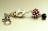 Handmade Glass Bead Pendant by Mireille von Grebmer