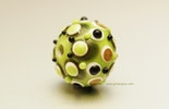 CIM-Glasperle, olivgrün.