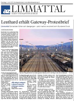 Limmattalerzeitung, 4. Juni 2013