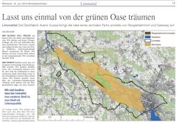 Limmattaler Zeitung,      19. Juni 2013