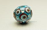 """Naxos"" Türkis-Perle aus Murano-Glas (verkauft)"