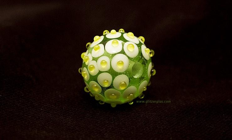 """Light&Green"" Muranoglas CHF 16.-"