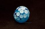 """""""Ice-Blue"""" Muranoglasperle  (vergeben)"""