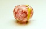 """""""sweet-Rosie"""" Blümchen-Perle aus Muranoglas"""