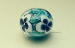 """""""Meeresblüte"""" aus Muranoglas (verkauft)"""