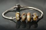 Pandora-/Trollbead-Style-Glasperlen