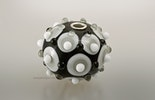 """""""Grauzeit"""" Muranoglasperle mit Silber925 Hülse (4mm) CHF 32.-"""