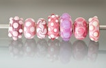 Pandora-Style/Trollbeadstyle change pearls in pink / white CHF 18.-/pc.