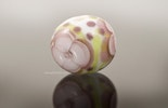 """Fleurs"" flower-Murano glass bead 19 mm diameter CHF 15.-"