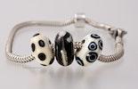 Pandora- und Trollbead Style Glasperlen-Set