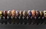 """""""Kollektion Silverglass"""" wunderschöne Kombination von verschiedenen Beads mit Silbergläsern (Bestellung/Thurgau)"""