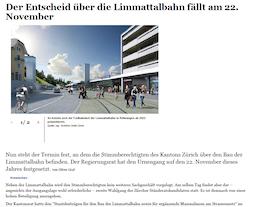 Limmattaler Zeitung Online (20.08.15)