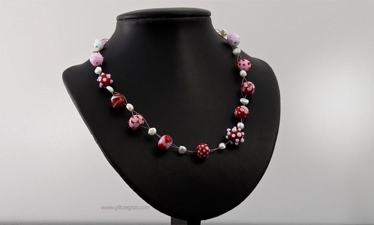 Halskette angefertigt für mein Gottemaitli :-)