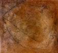 steinwiege, mischtechnik auf leinwand, 90x100 cm, 2000