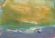 sandy mount beach, aquarell, 15x21 cm, 2004