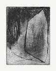 O.T.   radierung  kaltnadel  überarbeitet   19,5 cm  x 15 cm