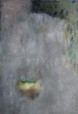 Primavera, 145 cm x 100 cm  öl , asche  auf Baumwolle