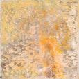 Licht über dem Land ,    1998, 62  x 62 cm  asche , öl  auf  holz