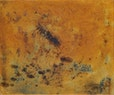 Niemandsland        eisenchloryd , kohle auf baumwolle  51  x 60 cm