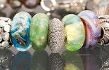 Wechselschmuck Perlen passen z.B. zu Pandora- oder Trollbeadarmbändern