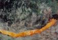 Wegstrecke, Mischtechnik, Öl auf Leinwand,100 x 145 cm