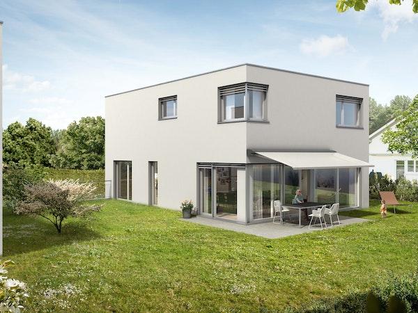 Vier attraktive Einfamilienhäuser.