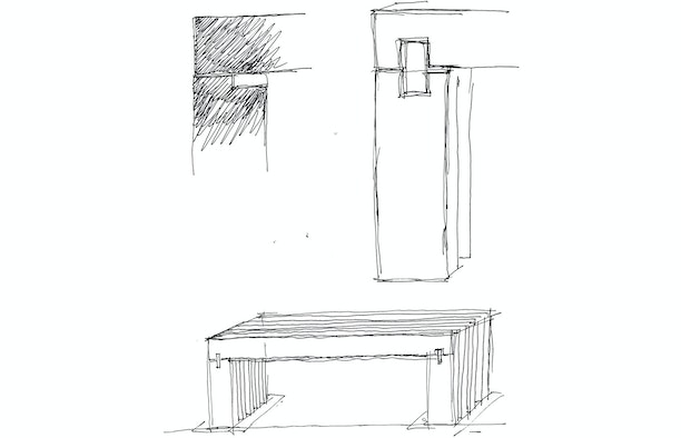 croquis mobilier