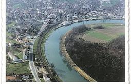Luftaufnahme aus dem Jahr 1956