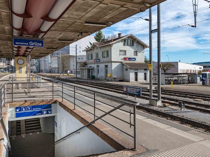 Bahnhof Winterthur Grüze