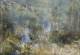 malereilandschaft, 100 x 145 cm öl auf leinwand