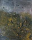 malereilandschaft, 90 cm x 70 cm öl auf leinwand