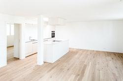 Küche-/Wohnzimmer