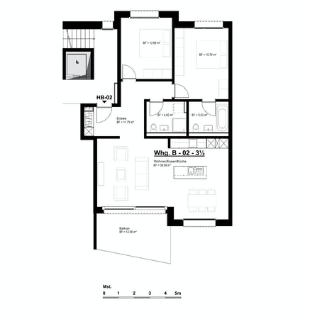 Wohnung B-02