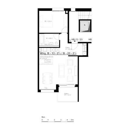 Wohnung B-13/B-23