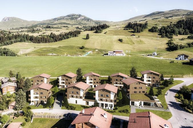 Gesamtansicht Alpine Residenz Cresta