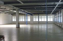 Werkhalle Sicht 1
