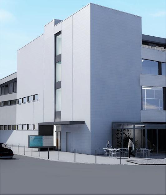 Der neue Bürostandort im Geeligzentrum